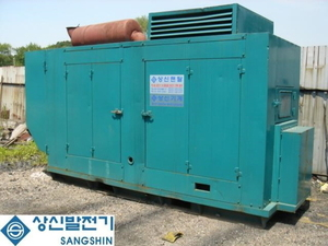 방음형 발전기soundproof generator(600KW)
