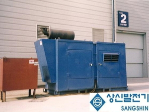 방음형 발전기soundproof generator(500KW)